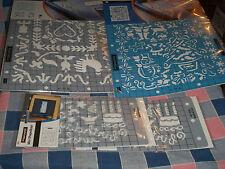 New Fiskars ShapeBoss  Stencils  Use Drop Box to Chose Design