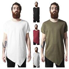 URBAN CLASSICS T-shirt Maglia lunga uomo Asymetric Long Tee TB1227