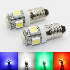 1-10x 6V 12V E10 EY10 LED SMD Schraubsockel Gewinde Lampe Wechselspannung Volt