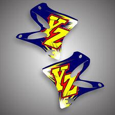 Yamaha YZ 125 250 2002 - 2017 2 STROKE GRAPHICS STICKER KIT DECALS RETRO 1996 YZ
