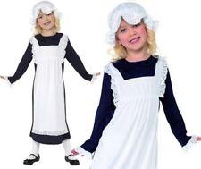 infantil SIRVIENTA Victoriana Disfraz para niña niñas y Niños Traje De SMIFFYS