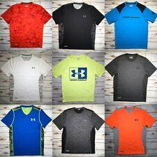 Mens Under Armour Shirt Tech Loose HeatGear Logo Dri T-Shirt Top S M L XL 2XL