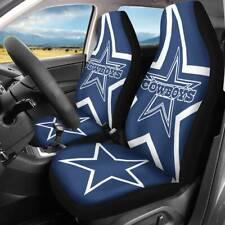 New Dallas Cowboys Car Seat Cover 2PCS Universal Fit Nonslip Auto Seat Protector