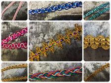 Metallic  Decorative Braid / Trimming - 30 - New Season Designs -
