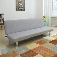 Sofá-Cama Salón Oficina Mueble Sofá Lounge Cama Asiento Gris Oscuro/Gris claro