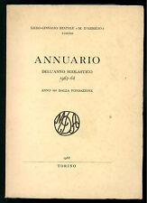 LICEO M. D'AZEGLIO TORINO ANNUARIO DELL'ANNO SCOLASTICO 1967-68 86° FONDAZIONE