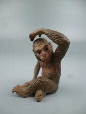 Cold Painted Austrian Bronze Seated Monkey #1 - Affe Wiener Vienna Figurine BR