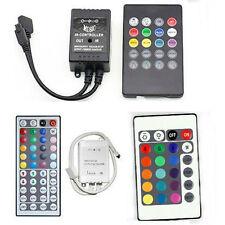 Wireless IR Remote Controller 20/24/44keys For 12V 3528/5050 RGB LED Strip Light