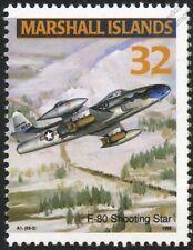 USAF LOCKHEED F-80/P-80 SHOOTING STAR Jet Aircraft Airplane Mint Stamp