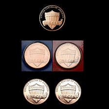 2010 P+D+S Lincoln Shield Set Mint Proof PD Satins in Mint Wrap ~ BU Mint Roll