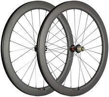 700C Disc Brake Road Wheels 55mm 25mm Width Carbon Road Bike Wheelset Cyclocross