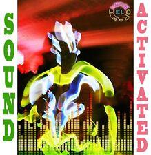 Sound Activated EL Wire Set = 3X 1 mètre EL Wire + Conducteur-Glow Tron Fancy Dress