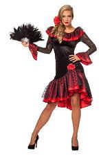 espagnole, flamenco danseuse COSTUME ESPAGNE robe danse carnaval 36-48