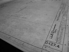 Disney World Pirates/Caribbean Ride Blueprint-Ent Bldg Lamp Post, Wtr Cask,Props