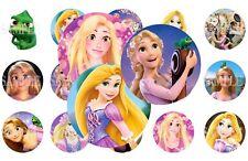 Rapunzel Pre-Cut 1 Inch Bottle Cap Images (7 Options)