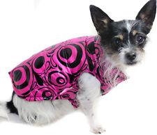 Hundejacke Hund Mantel S M L XL XXL pink Neu Winter warm