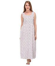 Cotton Lane Wrinkle-Resistant Printed Dress