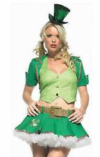 Leg Avenue 83394 Lucky Charm 5 Pc Irish St. Patrick's Costume All Size NEW USA