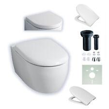 KERAMAG 4U / ICON 203460 / 204060 WAND-WC SPÜLRANDLOS + WC-SITZ SOFTCLOSE