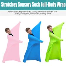 Sensory Sox Stretchy Body Sock Full-Body Wrap to Relieve Stress, Hyposensitivity