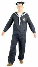 Seemann Kostüm für Herren Karneval Fasching Matrose Schiff Boot Party Gr. M - XX