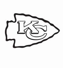 Kansas City Chiefs NFL Football Vinyl Die Cut Car Decal Sticker - FREE SHIPPING