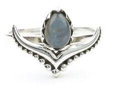 Nainital Labradorite Ring, Sterling Silver Labradorite Ring, Stone Jewelry