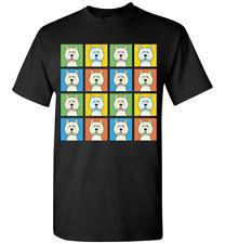 West Highland White Terrier Cartoon Pop T-Shirt, Men Women Youth Tank Short Long