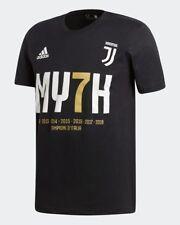 T-Shirt MY7H Adidas Junior - Juve Juventus 7 volte Campioni d'Italia Nero EC1939