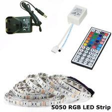 10/5M SMD 5050 RGB LED Tira iluminación ambiental Cambio de Color Control remoto IR Para La Cocina
