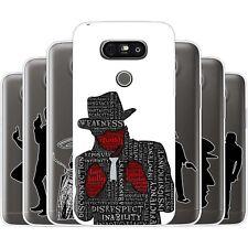 dessana Gangster TPU Silikon Schutz Hülle Case Handy Tasche Cover für LG