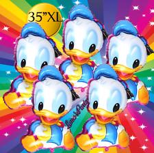"35"" Baby Donald Duck Birthday Balloons Latex daisy mickey minnie Boy shower part"
