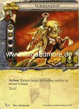 Warhammer Invasion - 2x Surrender!  #048