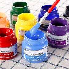 50ml Fabric Dyes paint DIY for Silk Screen Printing Mesh Transfers Stencil CA