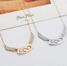 Halskette mit Anhänger Kette Geschenk Kristall necklace Weihnachtsgeschenk Glück