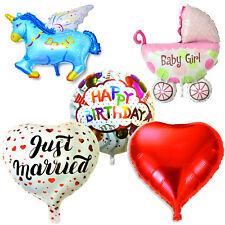 Folienballon Heliumballon Luftballon Geburtstag Heliumfüllung Party Dekoration