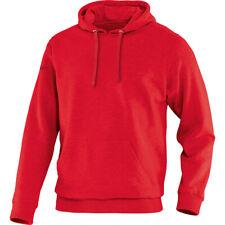 # Jako Kapuzensweat Team Herren rot Kapuzenpullover Sweatshirt Hoodie