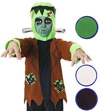 Boys Girls Frankenstein Monster Halloween Fancy Dress Kids Childs Costume Outfit