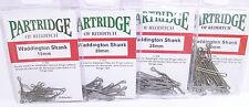 Partridge Waddington Shank 4 longitudes de acero inoxidable Partridge Waddington v1ss
