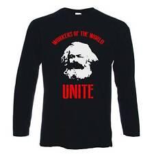 Los trabajadores Karl Marx comunista Camiseta-marxistas socialista Che Guevara