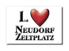 DEUTSCHLAND SOUVENIR - SACHSEN ANHALT MAGNET NEUDORF ZELTPLATZ (HARZ)