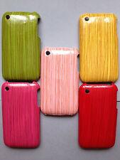 Coque arrière plastique dur / Housse pour Apple iPhone 3GS 3-fonctions effet designs