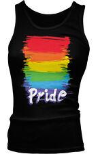 Rainbow Flag Gay Pride Lesbian LGBTQ Equality Love Same-Sex Boy Beater Tank Top