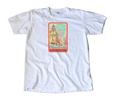 Chinatown San Francisco Vintage Travel Decal T-Shirt
