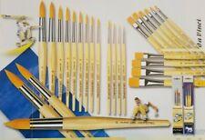 da Vinci Junior Synthetikpinsel rund Schulpinsel Haarpinsel Serie 303