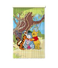 """""""Winnie Puuh"""" Kinder Foto Vorhang Gardine 140x245cm"""