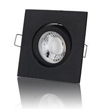 LED Einbaustrahler Dimmbar 230V Schwarz Deckenstrahler Einbauleuchte - lambado®