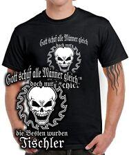 Carpintero t-shirt sólo los hombres más fuertes gremio ropa de trabajo sierra calavera