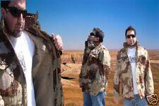 Alpha M-65 Field Jacket USA Desert Camo X-Small Reg NEW