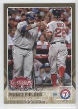 2015 Topps Update Series Gold #US370 Prince Fielder Texas Rangers Baseball Card